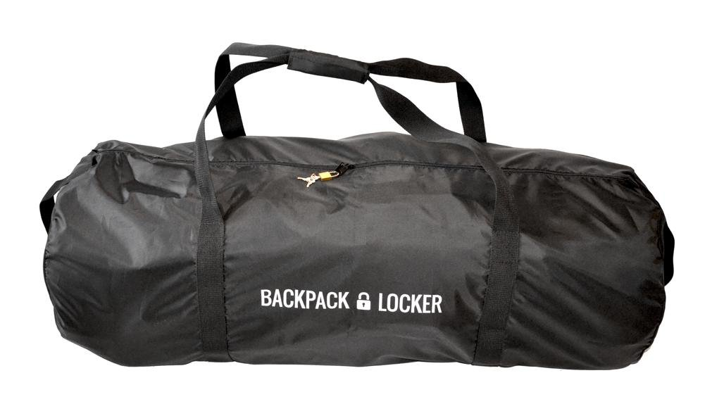 d2aaf687d495 Backpack Locker Lightweight - flight travel backpack   rucksack   bag  transit cover - lockable (padlock GRATIS!) duffel bag (65 l - 285 g)   Amazon.co.uk  ...