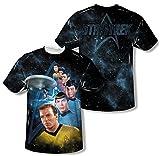 Wicked Tees Mens STAR TREK Short Sleeve MGHESS XLarge T-Shirt Tee