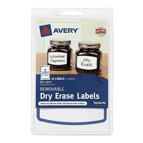 Avery Removable Labels Border 41450
