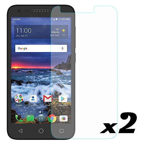 [2-Pack] Alcatel IdealXCITE / Verso / CameoX 5044R / U50 5044S Tempered Glass Screen Protector, Telegaming 3D 9H Hardness Anti-Fingerprint Scratch Resistant Explosion-proof Front Films For Alcatel U50