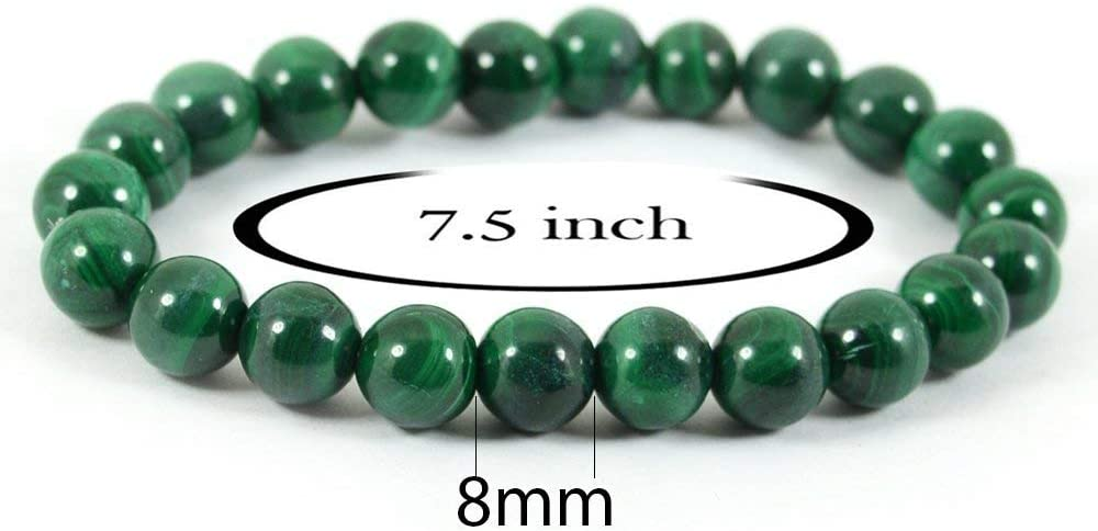 8mm Malachite Healing Bracelet