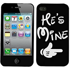 Apple iPhone 4 He's Mine Phone Case Cover