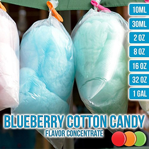 OOOFlavors Blueberry Cotton Candy Flavored Liquid Concentrate Unsweetened (30 (Blueberry Cotton)