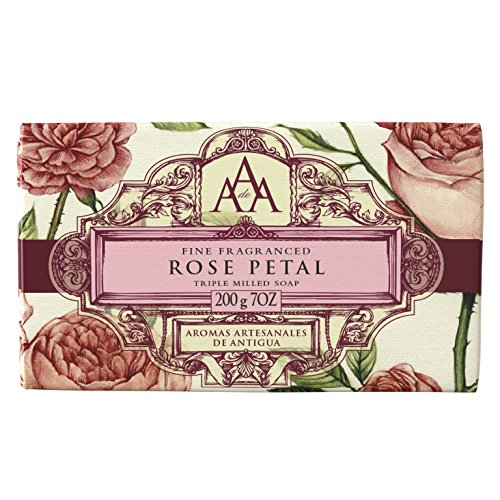 (AAA Floral - Soap - White Jasmine - 200 g /7 oz (Rose Petal))