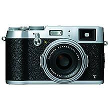 Fujifilm X100T, 16 MP Digital Camera (Silver)