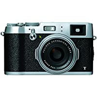 FUJIFILM premium compact digital camera X100T Silver FX-X100T S [International Version, No Warranty]