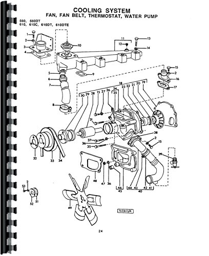 Misc. Tractors Long 560 560 DT 560 DTE Parts Manual (Catalog Parts Tractor Dt)