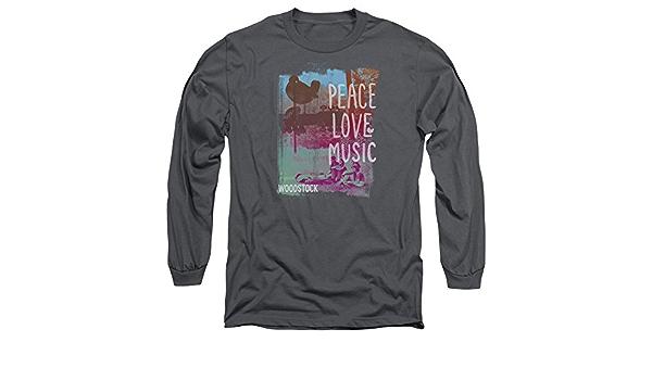 Woodstock PLM - Camiseta de Manga Larga Unisex para Hombre y ...