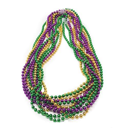 144 Mardi Gras Beads - 33