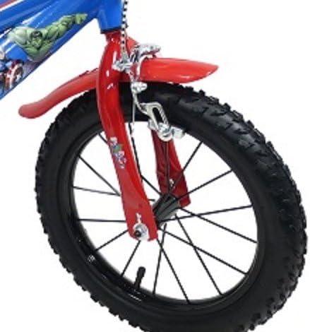 35.56 cm de los VENGADORES AVENGER para ruedas de bicicleta Bike bicicleta Dino-bike
