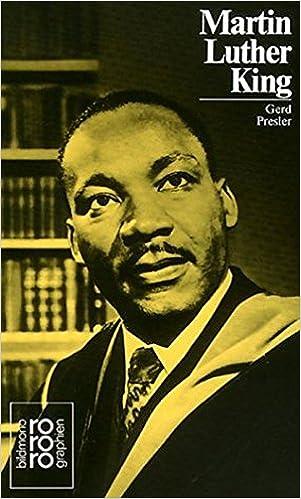 Martin Luther King Jr Mit Selbstzeugnissen Und