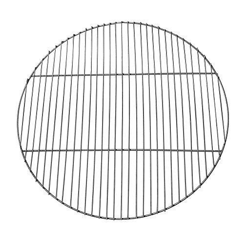 - Sunnydaze Chrome Plated Cooking Grate for Grilling, 30 Inch Diameter