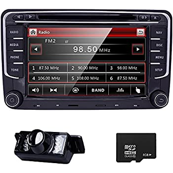 hd 7 inch double din car stereo gps dvd navi. Black Bedroom Furniture Sets. Home Design Ideas