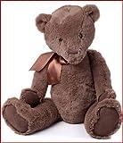CHARLIE BEARS- MY FIRST CHARLIE BEAR CHOCOLATE BROWN LARGE
