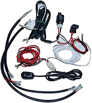 Amazon.com: OCTANE LIGHTING Universal Headlight Halo Angel Eye Drl Led  Lights Lamp Wiring Harness Switch Kit: AutomotiveAmazon.com