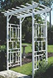 Dura-Trel 11179 Wellington Arbor, White