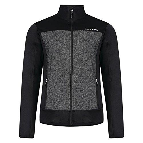 Dare 2b Men's Correlate Stretch Midlayer Sweatshirts Black/Charcoal