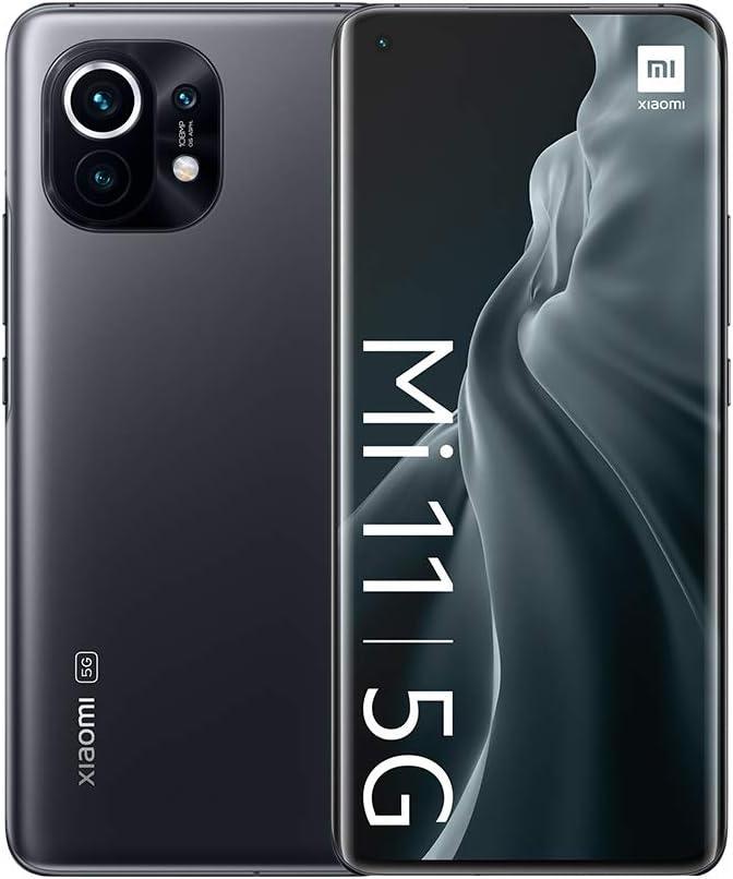 Xiaomi Mi 11 5G 8GB + 128GB, Color Gris Medianoche