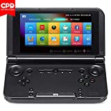 LANRUO GPD XD Plus [2018 Update] 5'' Touchscreen Android 7.0 Handheld Gaming Console Portable Video Game Player Laptop MT8176 Hexa-core CPU,PowerVR GX6250 GPU,4GB/32GB,6000mAh Battery