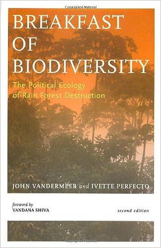 Breakfast Of Biodiversity The Political Ecology of Rain Forest Destruction