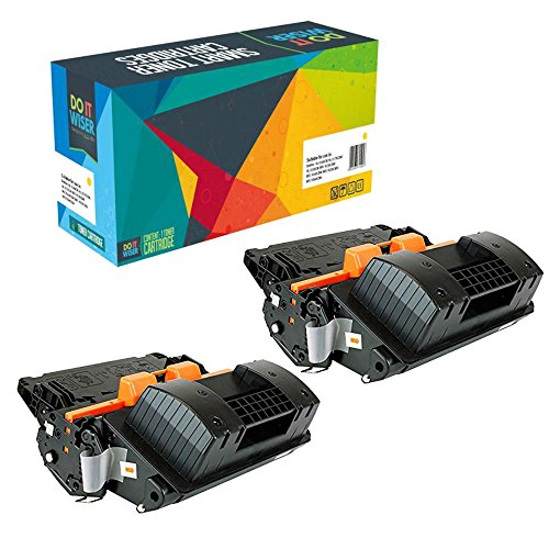 Do it Wiser Compatible toner cartridge replacement for HP 90X CE390X for HP Laserjet Enterprise 600 M602n M603n M4555 Series (Black, 2 - Hp M602n Enterprise 600 Laserjet