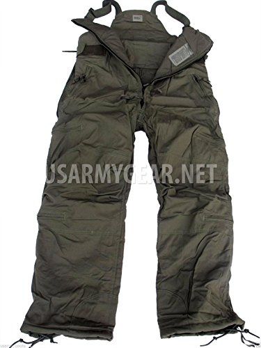 Very Warm Thick US Army Extreme Cold Weather Military Nomex Overalls Medium Long M/L Army Bib