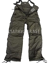 Very Warm Thick Us Army Military Insulated Pants Overalls Medium Reg M/R