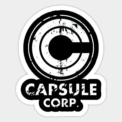 Capsule Corp - Sticker Graphic - Car Vinyl Sticker Decal Bumper Sticker for Auto Cars Trucks: Kitchen & Dining