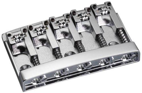 Schaller Bass Bridge Chrome - 3D-5 Model - 5-string by Schaller (Image #2)