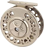 Tica USA T-Series Large Arbor Fly Reel, Silver, 30-Test/220-Yard