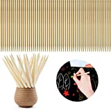 DLOnline 200PCS Wood Stylus Tools for Scratch Art or Other Artistic Creation