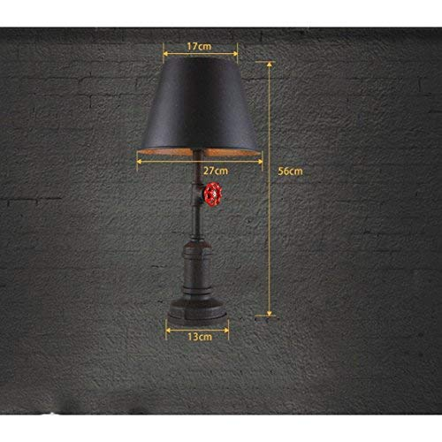 Amazon.com: AOLI Table Lamp Personality Rustic Retro Lamp ...