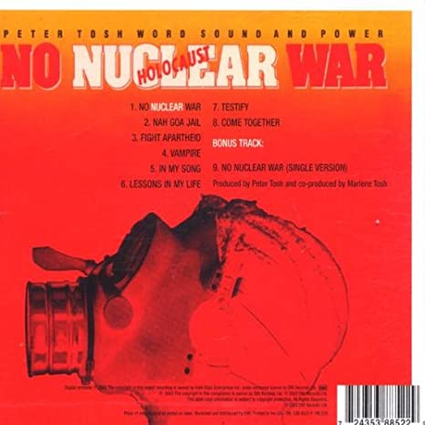peter tosh no nuclear war free mp3 download