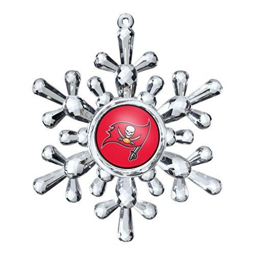 NFL Tampa Bay Buccaneers Snowflake Ornament