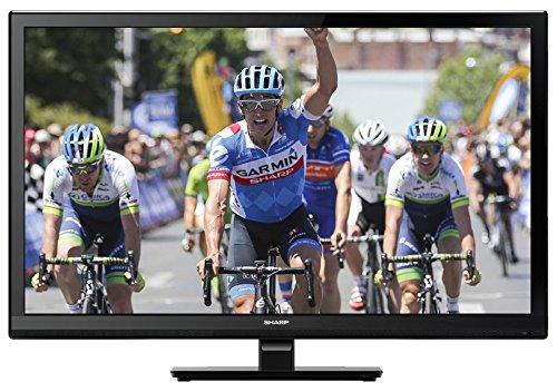 """Sharp LC-24DHF4012E TV LCD da 24"""" HD-Ready con DVD integrato"""