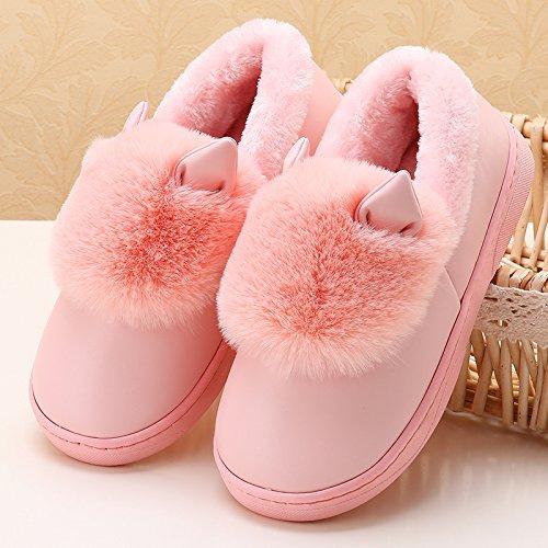 Inverno usura Pantofole 35 Evidenziarsi Di 37 E Rosa 36 Dovessero Uomini Scarpe Nelle Raccomandato Cotone Felpa Laxba Donne Strappano Pantofola Claire36 Imbottito Caldo qS8fwgEa