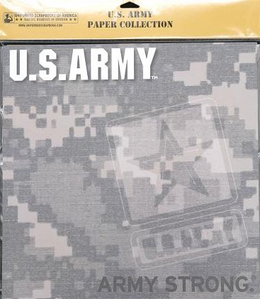 UNIFORMED U.S. Army Paper Pack, 20 Count (Uniformed Army)