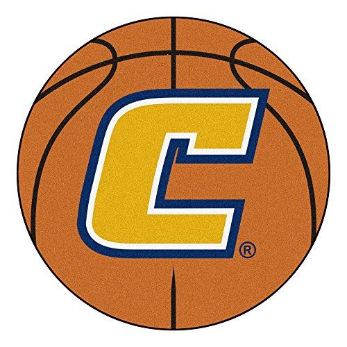 (NCAA University Tennessee Chattanooga Mocs Basketball Shaped Mat Area Rug)