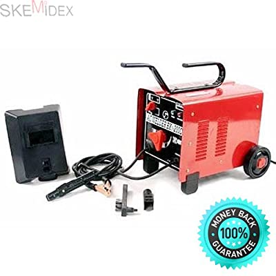 SKEMiDEX---ARC Welder 110 / 220V AC Welding Machine 250 Amp + Mask Accessories. Perfect welding performance, ideal for welding mild steel and stainless steel