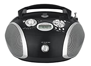 Grundig RCD1440 - Radio CD MP3 con USB, color negro y plata