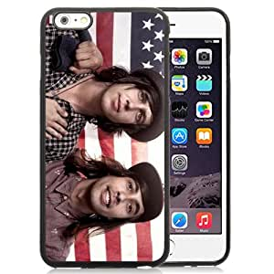 Unique Iphone 6 Plus Case Design with Vic Fuentes And Kellin Quinn iphone 6 Plus 5.5 Inch Black TPU Case
