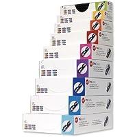 GBC Procomb Pack de 100 Reliures spirale plastique 8 mm Noir