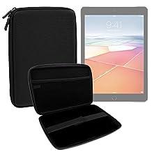 """Coque étui rigide en noir pour Apple iPad Pro 9,7"""" écran Retina 12 Mpx A9X M9 - tablette tactile - résistant à l'eau - DURAGADGET"""