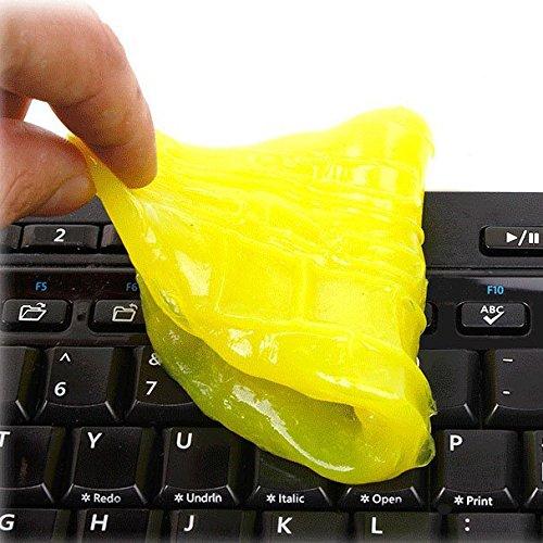 Sonline Eb Hk High-Tech Magie Staub-Reiniger Verbindung Super Sauberes Schleimiges Gel fuer Telefon Laptop-PC-Computer-Tastatur Mc-1