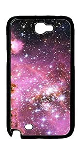TUTU158600 Hard Plastic and Aluminum Back cell phone case for samsung galaxy note2 - Star Universe gorgeous cloud