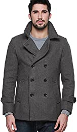 Amazon.com: Grey - Wool &amp Blends / Jackets &amp Coats: Clothing