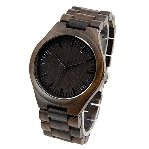 Personalized Watch - Engraved Watch - - Ban Style Ray Sunglasses Wooden