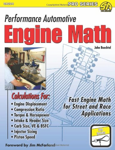 Performance Automotive Engine Math (Sa Design-Pro) ()