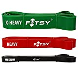 Fitsy Resistance Band For Pilates, Yoga & Fitness Workout (Extra Heavy)