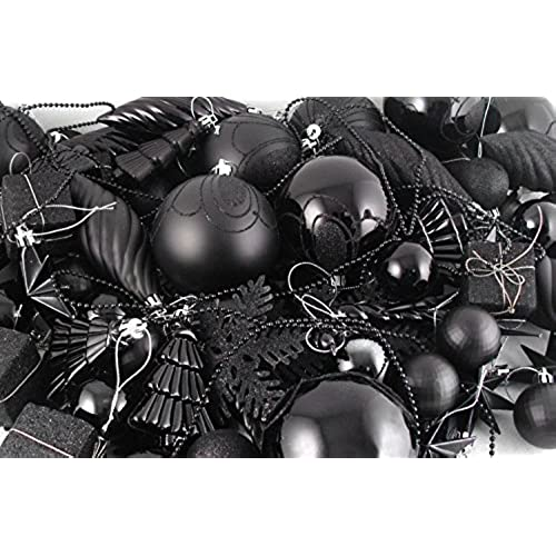 black christmas ornaments amazoncom